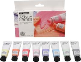 Art Rangers acrylverf Pastel kleuren - set van 8