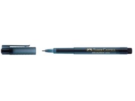 Fineliner Faber-Castell Broadpen 1554 0.8mm - zwart