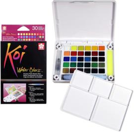 Sakura Koi Water Colors Brush Set - 30 kleuren