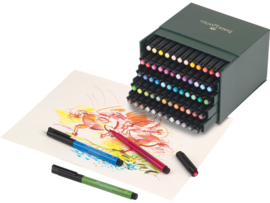 Faber Castell Pitt Artist Pen Brush Studiobox - set van 60