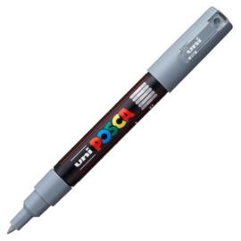 Uni Posca Paint Marker PC-1MC conische punt  - Grijs