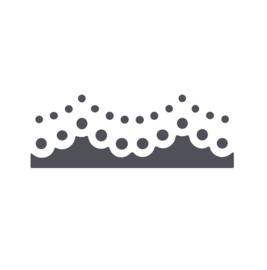 Vaessen Creative - Randpons doily edge - 4,5 cm