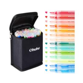Ohuhu Acrylic Marker Pens - set van 40