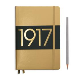 LEUCHTTURM 1917 bulletjournal / Notitieboek A5 - Dotted - Metallic Gold