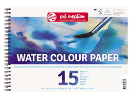 Talens Art Creation Waterverf papier A4 29,7 x 21,0 cm - 15 vellen