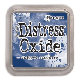 Tim Holtz Distress Oxide Inkt Pads groot - Chipped sapphire