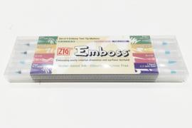ZIG Emboss Twin Tip Markers - set van 4