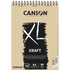 Canson XL Kraft papierblok - 60 vellen - A4