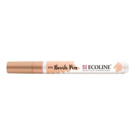Talens Ecoline Brush Pen - 374 beige roze