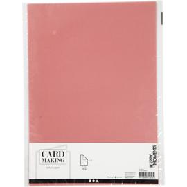 Card Making Vellum / Perkament papier A4 - 10 vellen - Rood