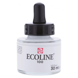Talens Ecoline Vloeibare waterverf 30 ml - 100 wit