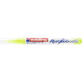 Edding 5300 Acrylmarker fijn 1-2mm - 065 Neon geel