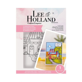 Crafter's Companion Lee Holland Clearstamp - Flower Boutique