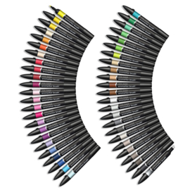 Winsor & Newton promarkers Brush - Essential Collection - set van 48