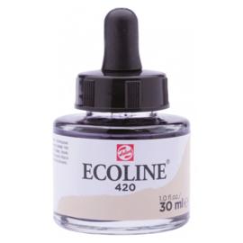 Talens Ecoline Vloeibare waterverf 30 ml - 420 beige