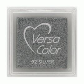 VersaColor Inkpad klein - Zilver