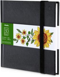 PRE-ORDER: Ohuhu Alcohol marker papier pad 17,5 x 16,5 cm - 200 grams - 30 vellen