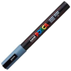 Uni Posca Paint Marker PC-3M  - Leisteen grijs