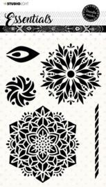 Studio Light Mask Stencil Doodle Essentials - nr. 58