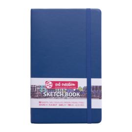 Talens art creation Brush / Schetsboek 13 x 21 cm - 80 vellen - Marine Blauw