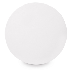 Clairefontaine canvas board rond - diameter 30 cm - Wit