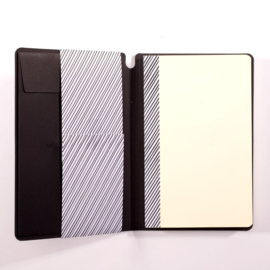 Paperfuel Journal notebook A5 - 48 pagina's - Zwart - Wit papier