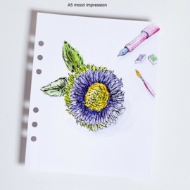 MyArtBook papier A5 - 10 vellen - 200 grams - Ultra wit Mixed Media / Aquarelpapier