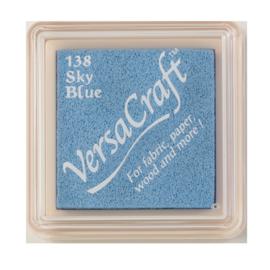 VersaCraft inktkussen small - Sky Blue