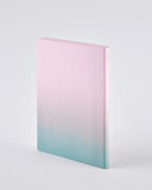 Nuuna bulletjournal / Notitieboek A5 - 176 pagina's - Dotted - Colour Clash L Light Pink Haze