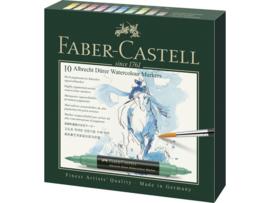 Faber Castell aquarel marker Albrecht Dürer - set van 10 + GRATIS BINGOKAART