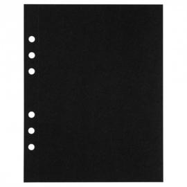 MyArtBook papier A5 - 10 vellen - 210 grams - Zwart tekenpapier