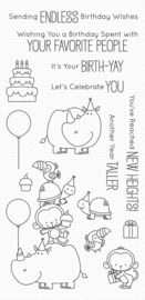 My Favorite Things clear stamps - set van 15 - BB Birth-Yay