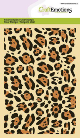 CraftEmotions clearstamps A6 - panter print