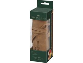 Faber-Castell Roletui - kunstleer bruin voor 45 potloden