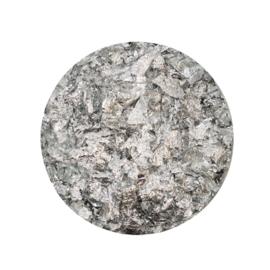 Tonic Studios Nuvo vergulden vlokken 200ml - zilver (Gilding Flakes)