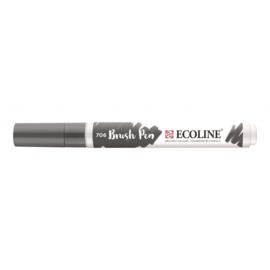 Talens Ecoline Brush Pen - 706 donkergrijs