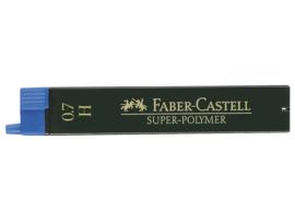 Faber Castell navulling potloodstiftjes Super-Polymer 0,7 mm - Hardheid H
