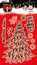 Studio Light Clear Stamp A5 - Christmas Essentials nr.82