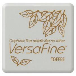 Tsukineko VersaFine inktpad 3 x 3 cm - watervaste inkt - Toffee