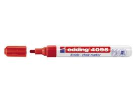 Edding 4095 Raam/krijtstift - rond 2-3 mm - Rood