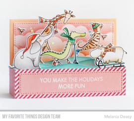 My Favorite Things clear stamps - set van 8 - Christmas Safari