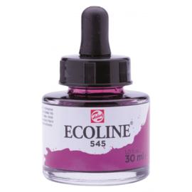 Talens Ecoline Vloeibare waterverf 30 ml - 545 roodviolet