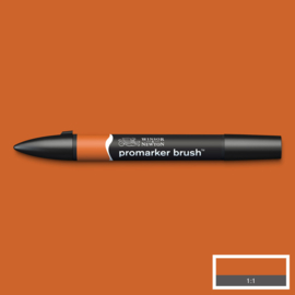 Winsor & Newton promarkers Brush - Saddle Brown
