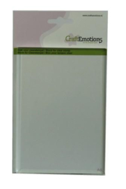CraftEmotions stempelblok voor clearstempel A6 105x148mm - 8mm