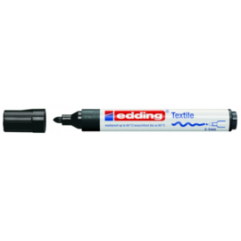 Edding 4500 Textielstift 2-3 mm - Zwart