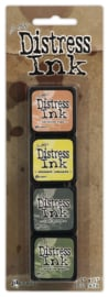 Tim Holtz distress mini ink kit 10