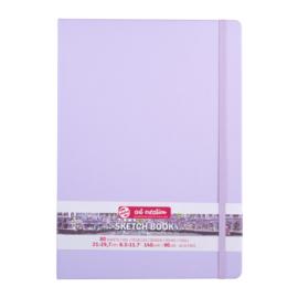Talens art creation Brush / Schetsboek 21 x 29,7 cm - 80 vellen - Pastel Violet