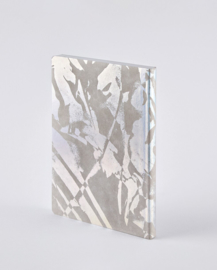 Nuuna bulletjournal / Notitieboek A5 - 176 pagina's - Dotted - Surface L Light Crystal