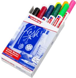 Edding 4095-4 Raam/krijtstift - rond 2-3 mm - set van 10