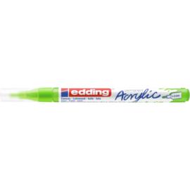 Edding 5300 Acrylmarker fijn 1-2mm - 927 Geelgroen